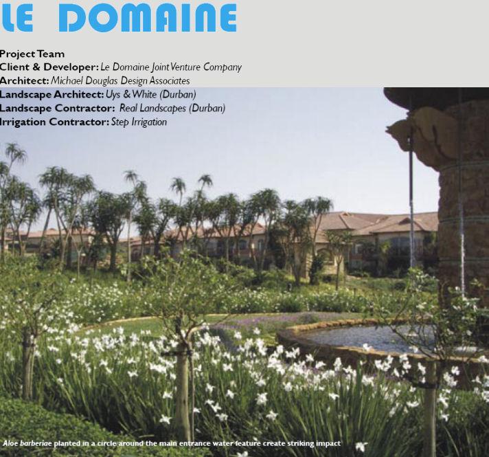 landscape sa 2006 02 le domaine 1 Le Domaine